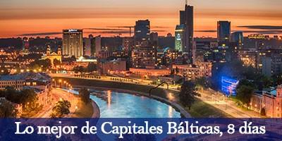 Viajar por las Capitales Bálticas